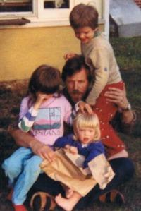Proud Father, Carbondale, IL, ~1988