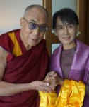 Dalai-Lama-with-Aung-San-Suu-Kyi-in-London